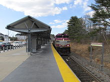 Middleboro MA train station - MBTA